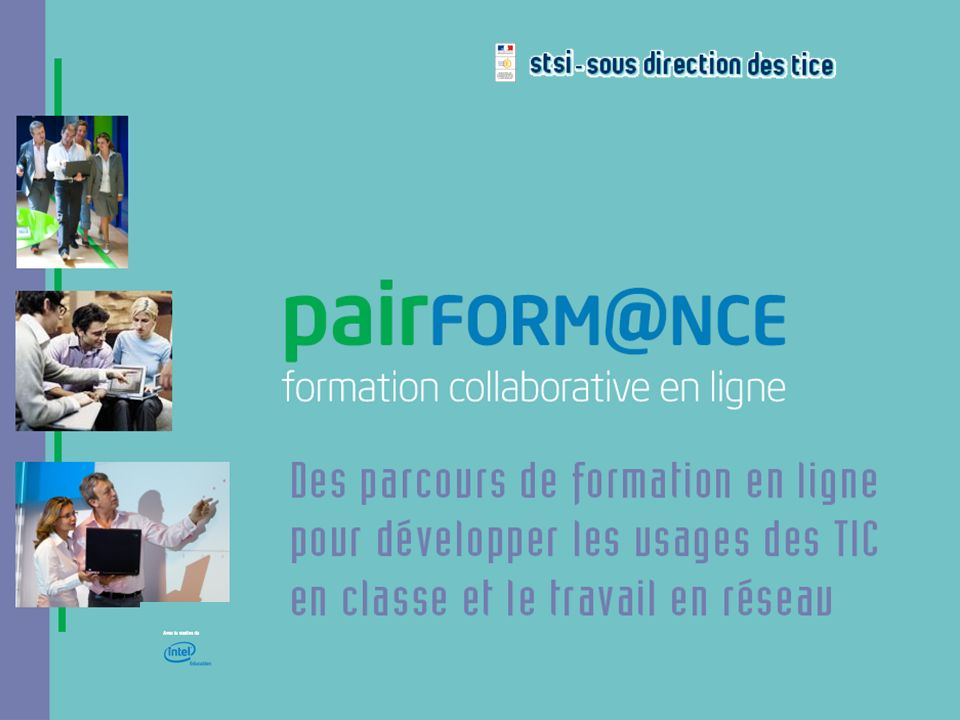 Pairform@nce - interlocuteurs TICE et DOC - 29 janvier 2008 22 Questions / échanges Grp de travail « indexation » Organisation de lespace documentaire Parcours