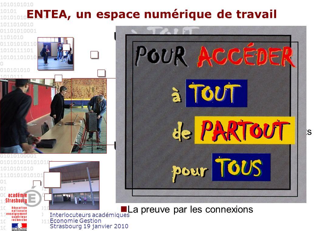 Interlocuteurs académiques Economie Gestion Strasbourg 19 janvier 2010 Quelques données statistiques en novembre