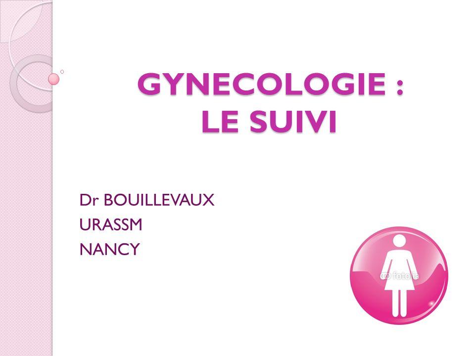 GYNECOLOGIE : LE SUIVI Dr BOUILLEVAUX URASSM NANCY