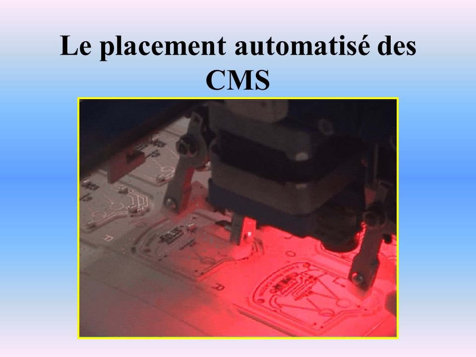 Le placement automatisé des CMS