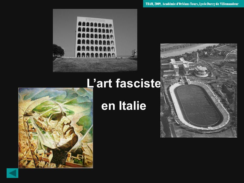 Stade des marbres, Rome Lart fasciste en Italie TRAM, 2009, Académie dOrléans-Tours, Lycée Durzy de Villemandeur