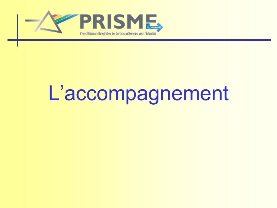 Laccompagnement