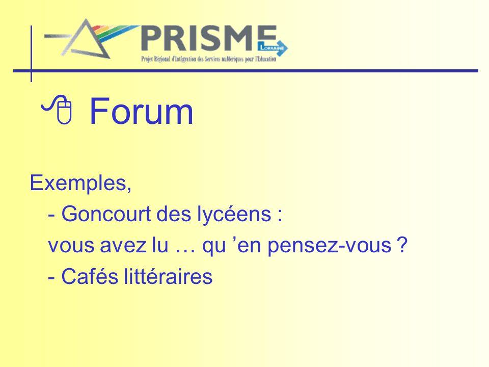 Forum Exemples, - Goncourt des lycéens : vous avez lu … qu en pensez-vous ? - Cafés littéraires