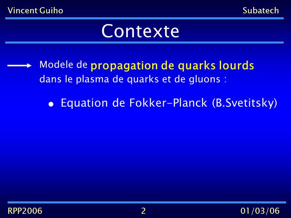 Vincent Guiho Subatech RPP200601/03/06 Qq Qqg 11 0 z q Q