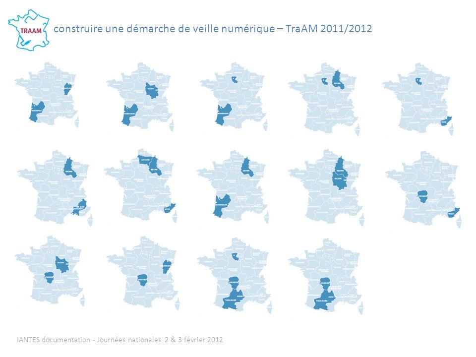 IANTES documentation - Journées nationales 2 & 3 février 2012