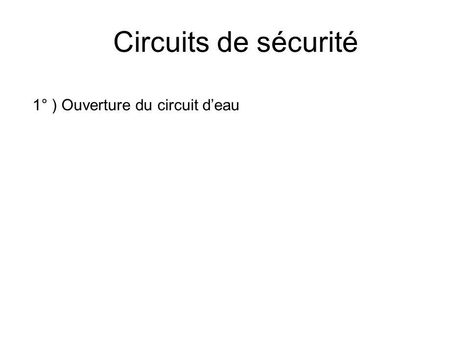 Circuit deau Eau de ville / circuit fermé Cuve tranfo Groupe de pompage Tube Target 6 Lit/min 12 Lit/min1 Lit/min