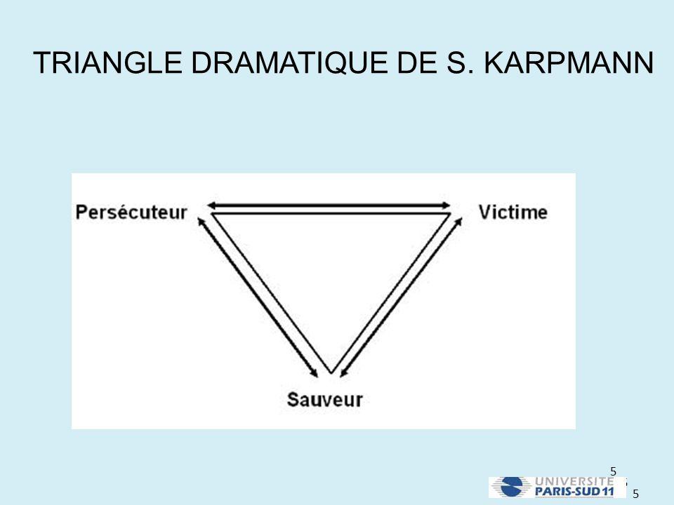 5 5 5 TRIANGLE DRAMATIQUE DE S. KARPMANN