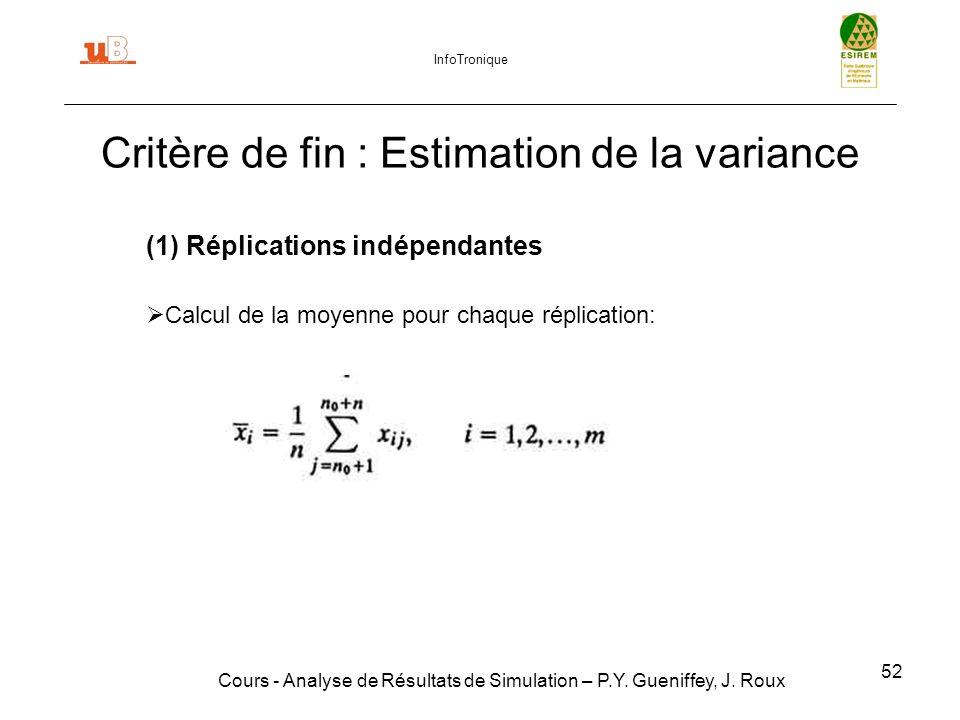52 Cours - Analyse de Résultats de Simulation – P.Y.