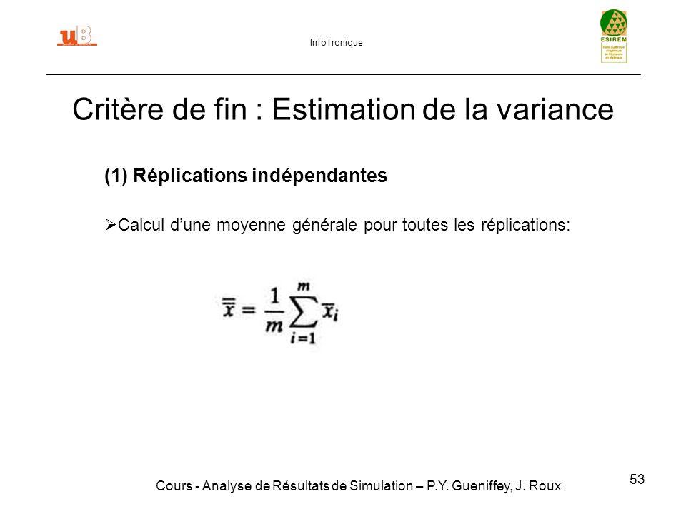 53 Cours - Analyse de Résultats de Simulation – P.Y.