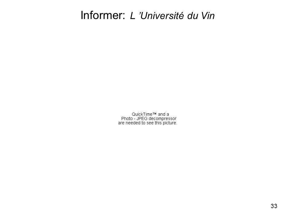 33 Informer: L Université du Vin