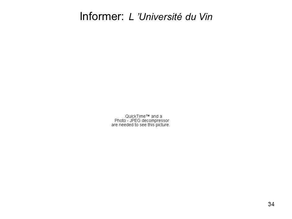 34 Informer: L Université du Vin