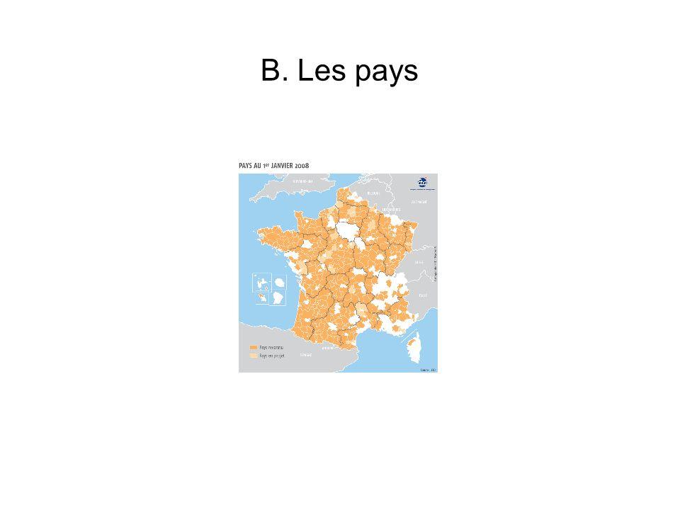 B. Les pays