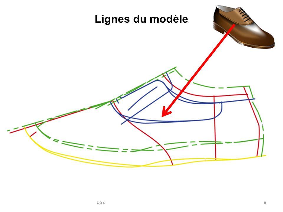 Lignes du modèle DGZ8