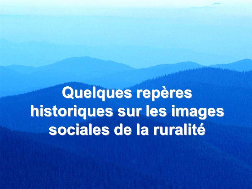 Quelques repères historiques sur les images sociales de la ruralité