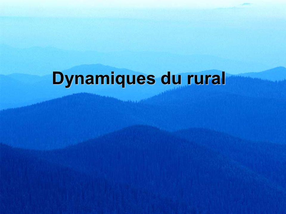 Dynamiques du rural