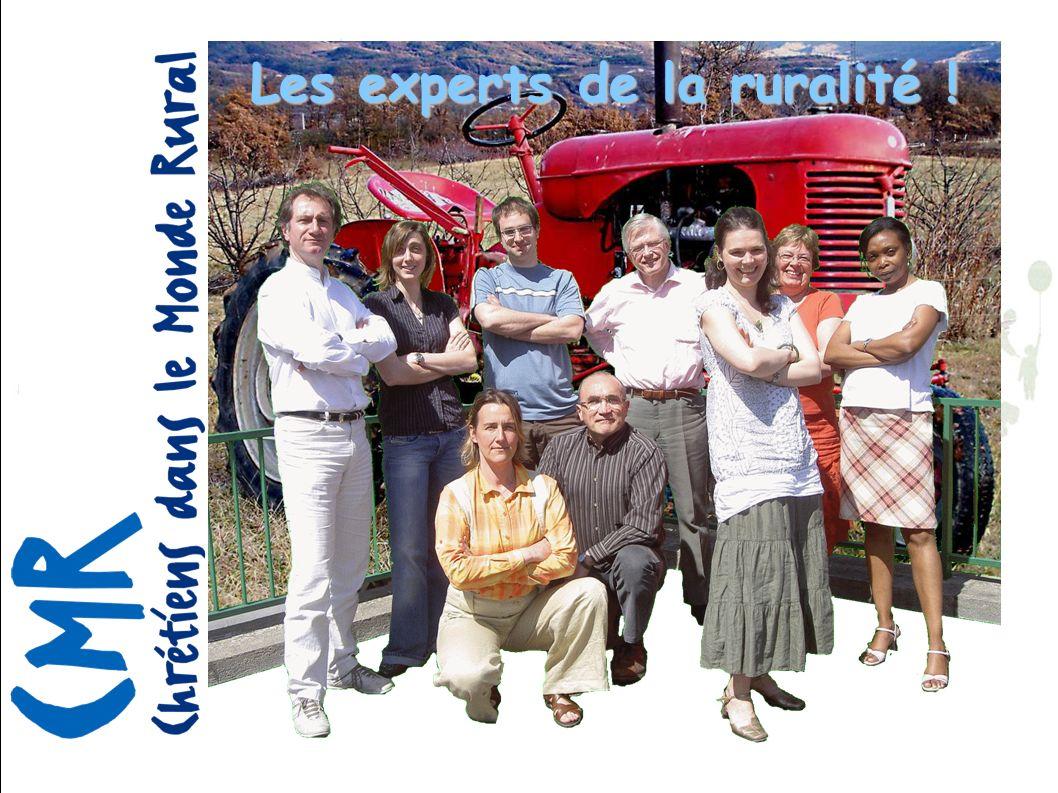 Priorité 1 : Contribuer à un projet d humanisation en contexte de ruralité 4.