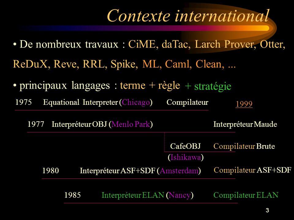 44 Colette (Carlos Castro) Environnement de résolution de contraintes Conjonction, minimisation, disjonction Puzzles, coloriages, ordonnancement,...