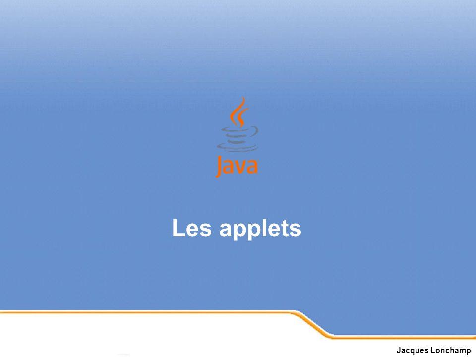 Page 1 Les applets Jacques Lonchamp