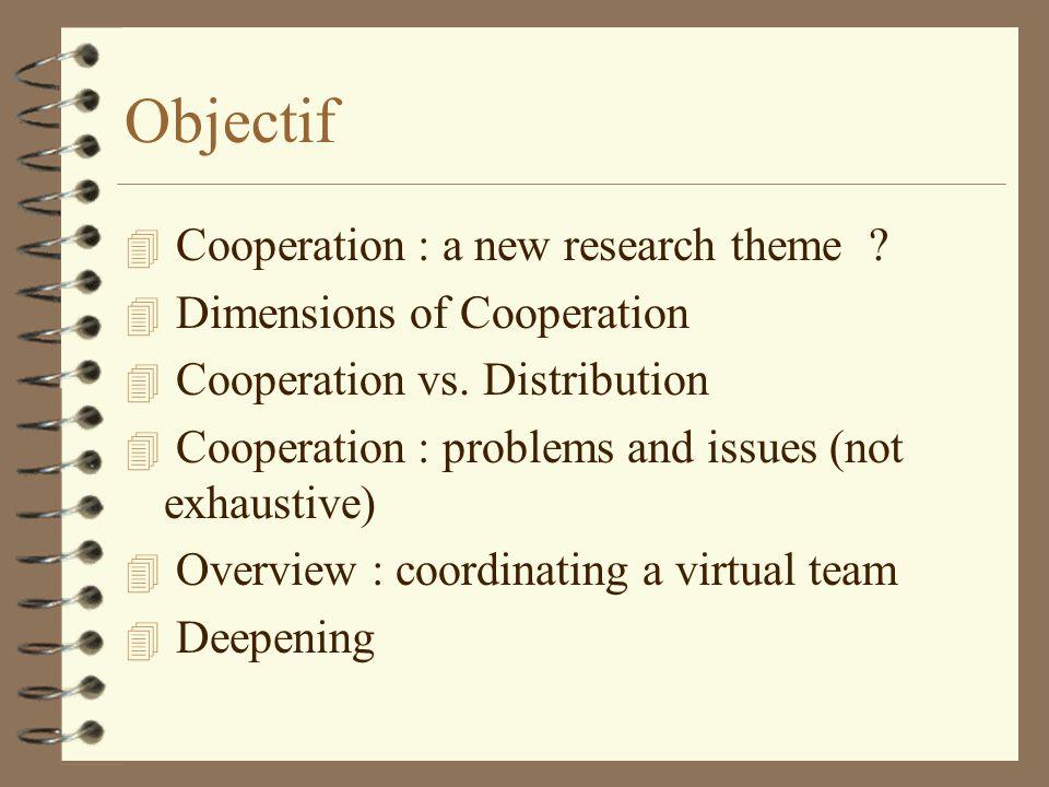 Cooperation vs.