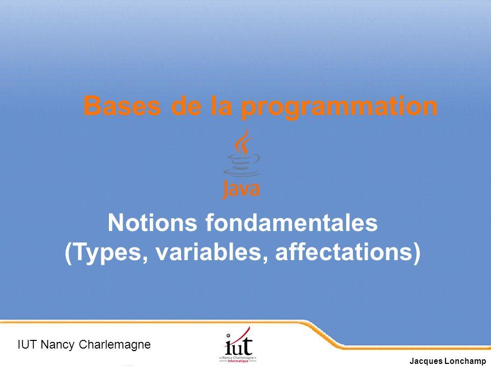 Page 2 But : apprendre les bases de la programmation avec Java.