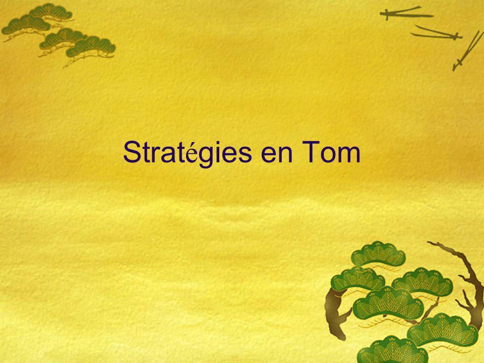 Strat é gies en Tom