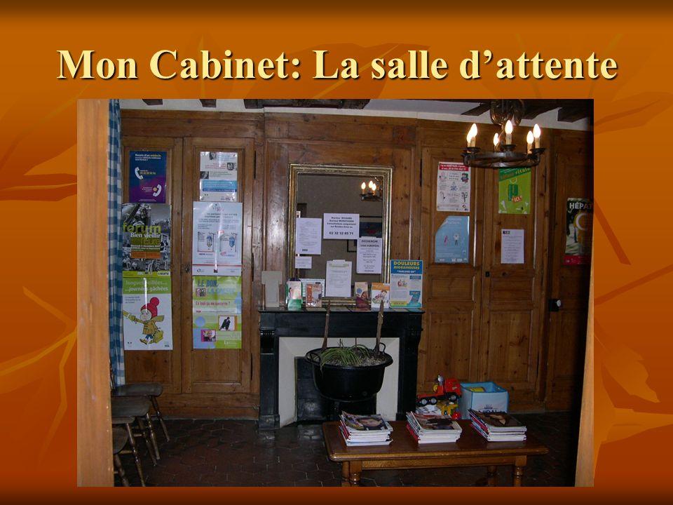 Mon Cabinet: La salle dattente