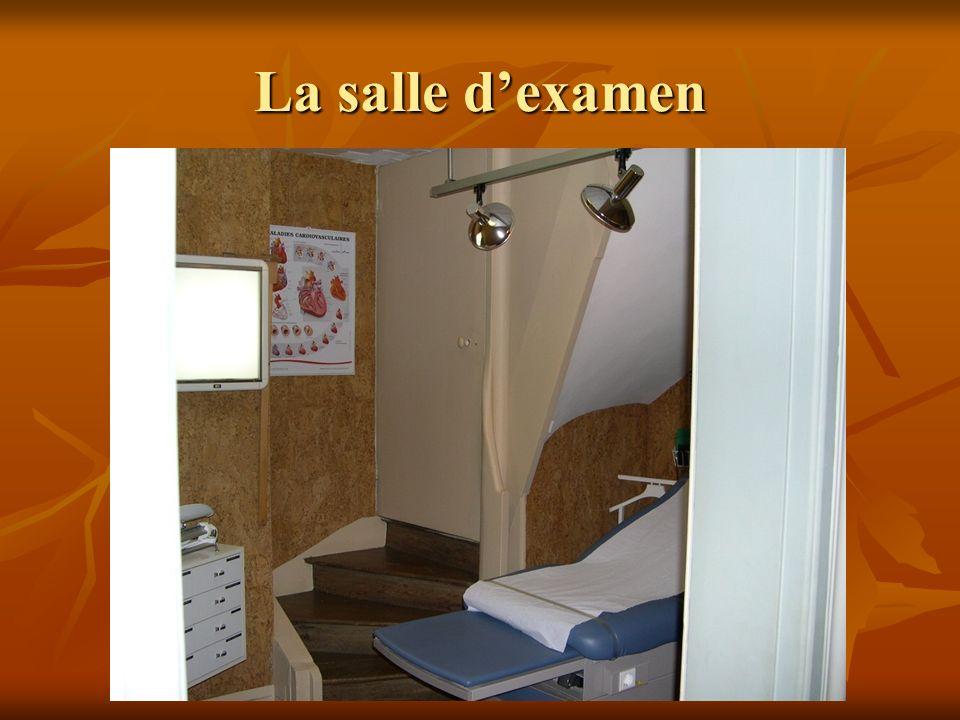 La salle dexamen
