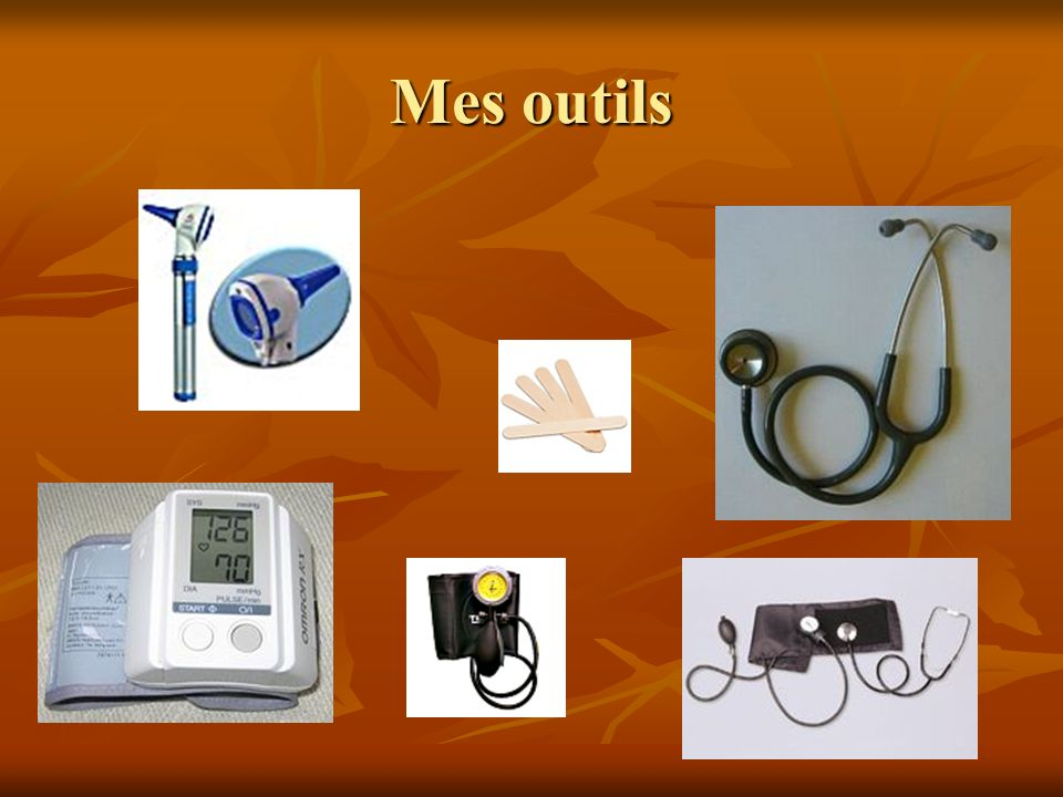 Mes outils