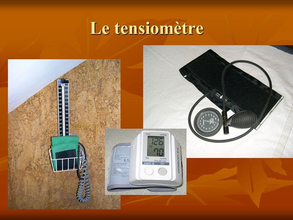 Le tensiomètre