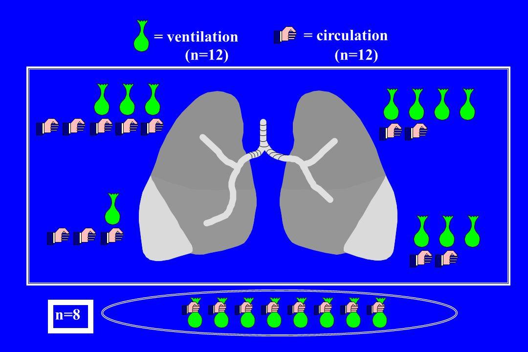= circulation = ventilation + (n=12) n=8