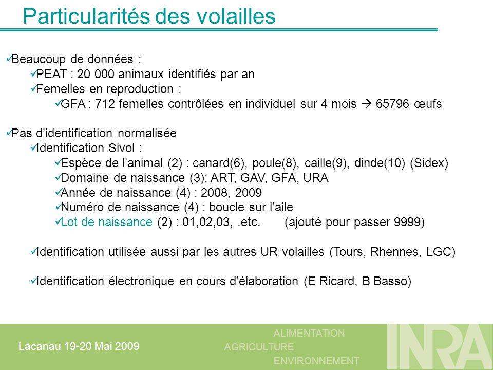 ALIMENTATION AGRICULTURE ENVIRONNEMENT Lacanau 19-20 Mai 2009 private void dgrvMirIJ_CellEnter(object sender, DataGridViewCellEventArgs e) { int col; switch (cbOperation.SelectedIndex) { case 0: //Mirage1 if (dgrvMir1IJ.CurrentCell != null && dgrvMir1IJ.CurrentCell.Value != null) { col=frmMaquette.Chercher_NoColonne_DataGridView_ParSonNom(dgrvMir1IJ, CD_MIRAGE1 ); if (dgrvMir1IJ.CurrentCell.ColumnIndex == col) MIR1IJ_OLD = (string)dgrvMir1IJ.CurrentCell.Value; } break; … private void dgrvMirIJ_CellValidated(object sender, DataGridViewCellEventArgs e) { // valeurs acceptées de 1 à 4 pour le code du 1er mirage int col; switch (cbOperation.SelectedIndex) { case 0: //Mirage1 if (dgrvMir1IJ.CurrentCell != null) { col = frmMaquette.Chercher_NoColonne_DataGridView_ParSonNom(dgrvMir1IJ, CD_MIRAGE1 ); if (dgrvMir1IJ.CurrentCell.ColumnIndex == col) { if (dgrvMir1IJ.CurrentCell.Value != null && int.Parse((string)dgrvMir1IJ.CurrentCell.Value) > 4) dgrvMir1IJ.CurrentCell.Value = MIR1IJ_OLD; } } break; DataGridView : contrôle sur une colonne