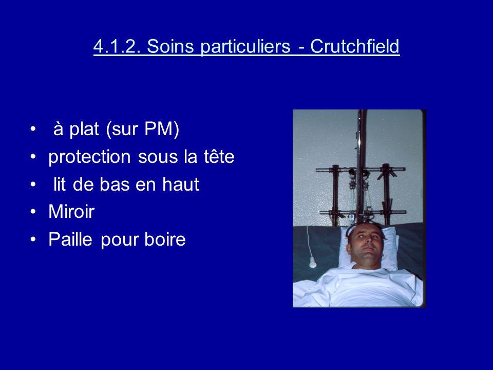 Soins relatifs à la traction ne pas tourner sur le côté pied surélevé position du pied à angle droit ( chaussette anti- équin) expliquer au patient :