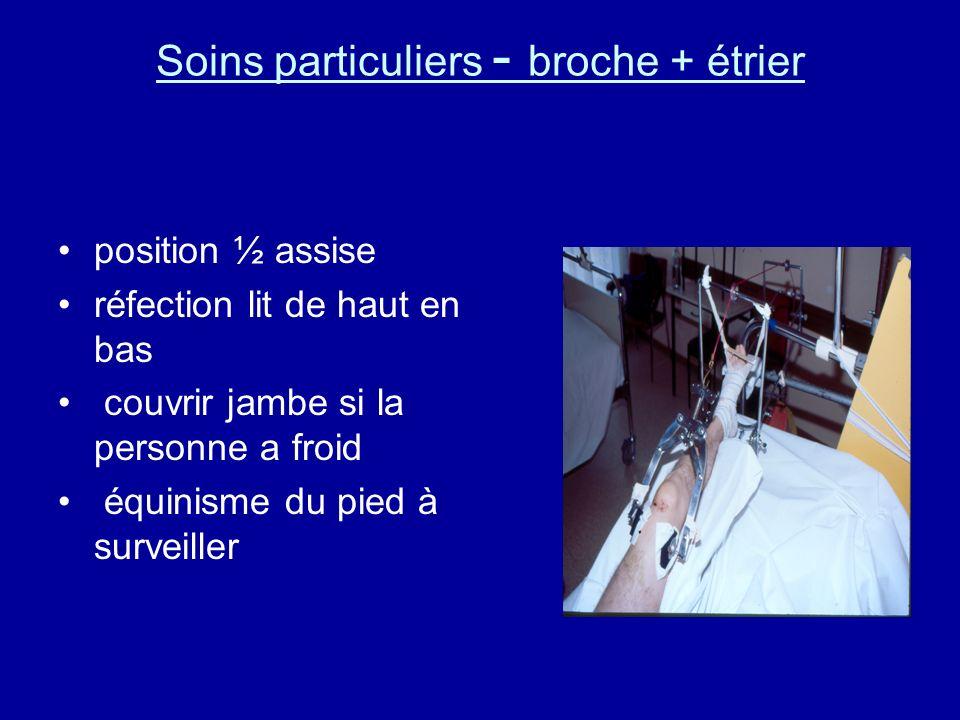4.1.2. Soins particuliers - Crutchfield à plat (sur PM) protection sous la tête lit de bas en haut Miroir Paille pour boire