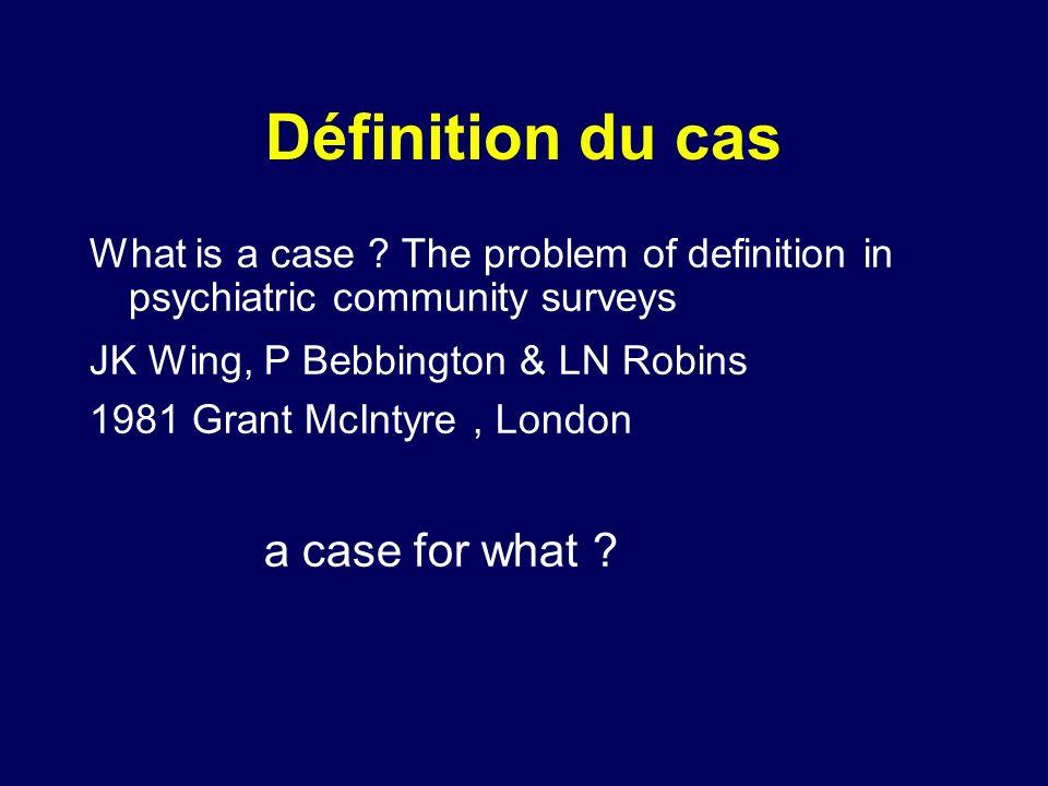 Validité des Instruments Comparative Diagnostic standard