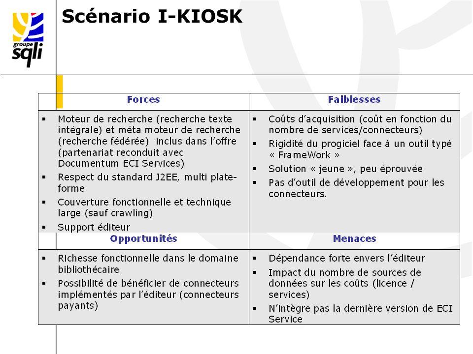 Scénario I-KIOSK