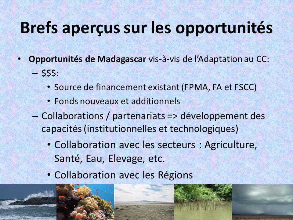 VI.Quelques projets dadaptation concrets Adaptation de la gestion des zones côtières tenant compte de lamélioration des écosystèmes et des niveaux de