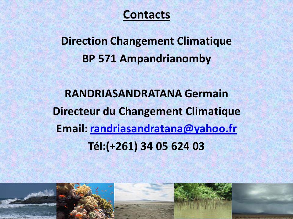 Brefs aperçus sur les opportunités Opportunités de Madagascar vis-à-vis de lAdaptation au CC: – $$$: Source de financement existant (FPMA, FA et FSCC)
