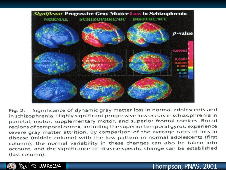 UMR6194 Thompson, PNAS, 2001