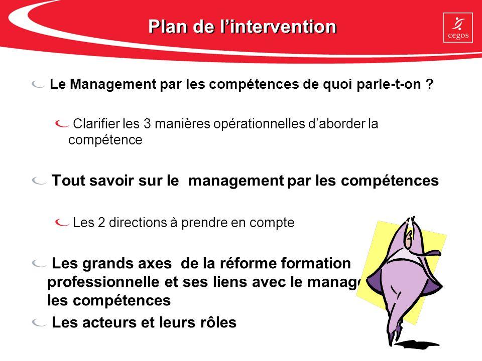 Niveau 3 : Le management par les compétences Enjeu : Développer l« intelligence collective » de toute lentreprise.