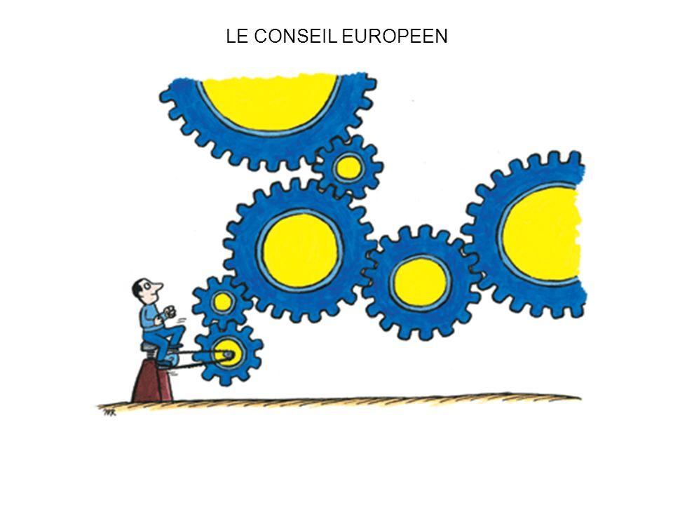 LE CONSEIL EUROPEEN