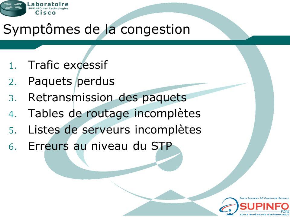 Les 3 couches du modèle Principale : Assure loptimisation du transport entre les sites Distribution : Connectivité fondée sur les politiques Accès : Permet aux utilisateurs et groupes de travail daccéder au réseau