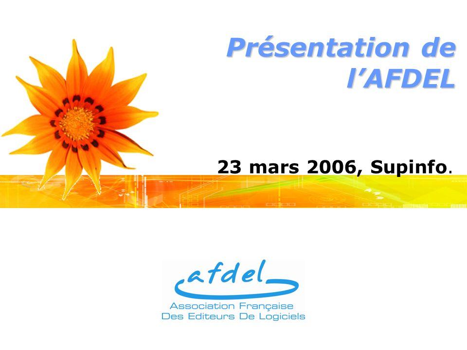 Présentation de lAFDEL 23 mars 2006, Supinfo.