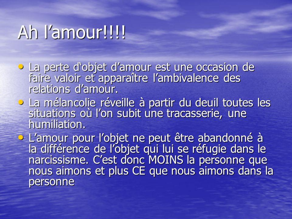 Ah lamour!!!.