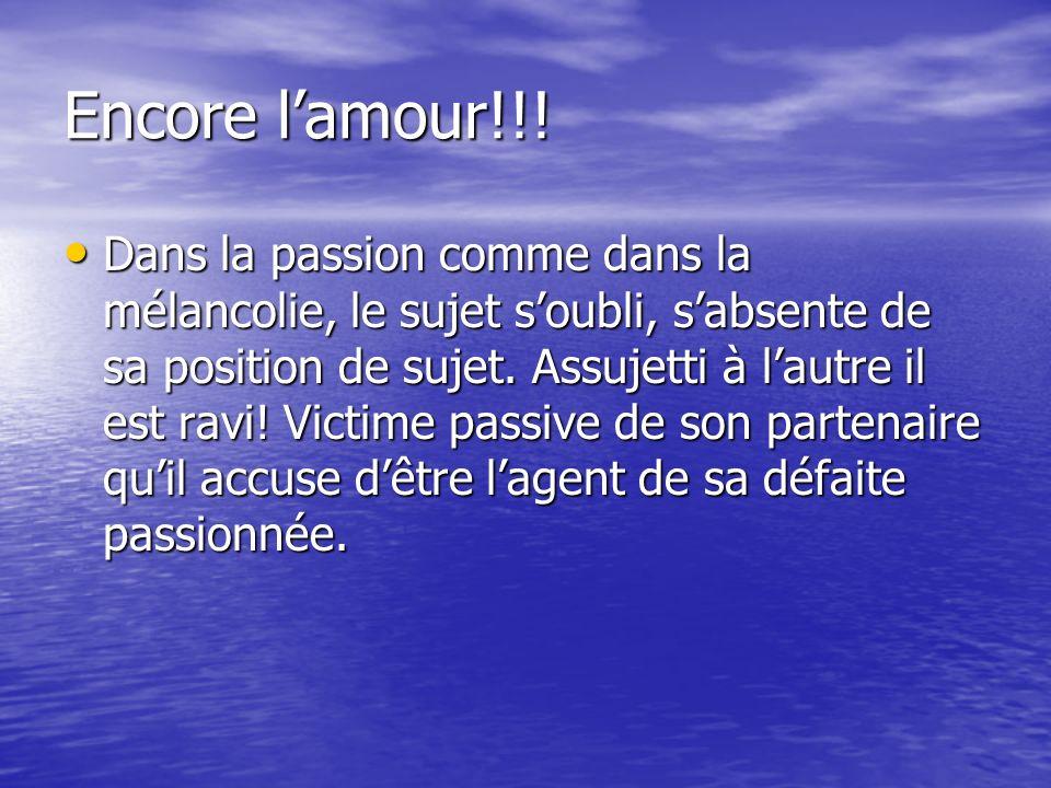 Encore lamour!!.