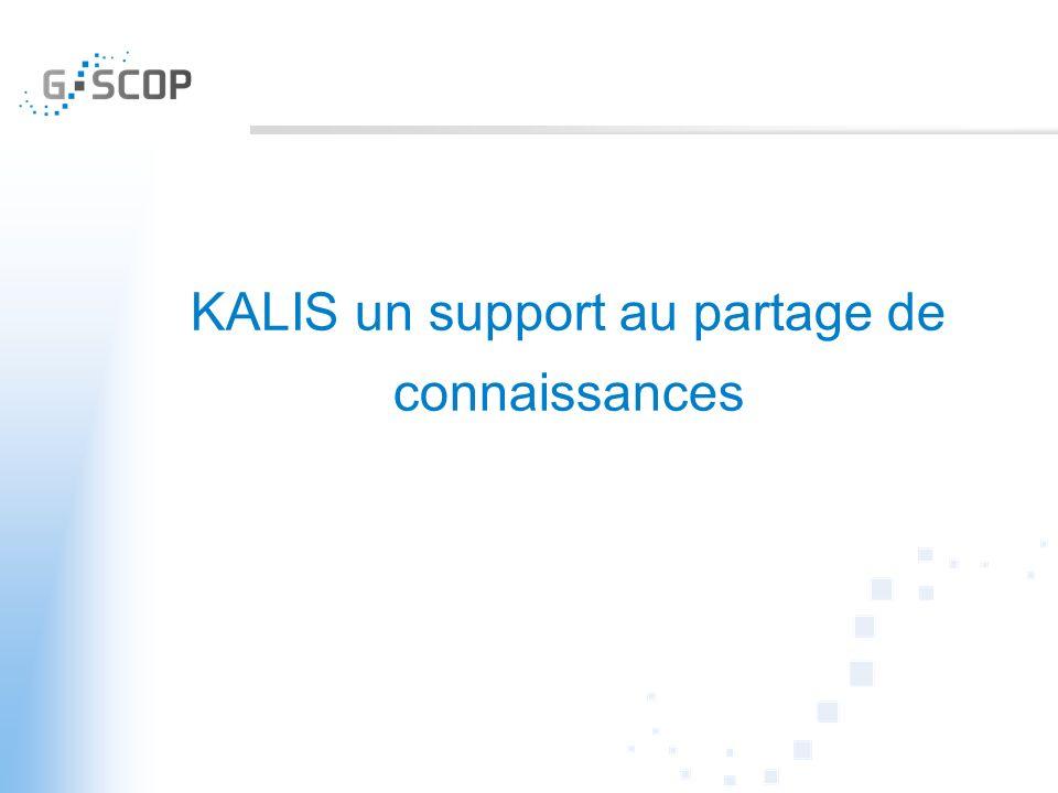KALIS un support au partage de connaissances