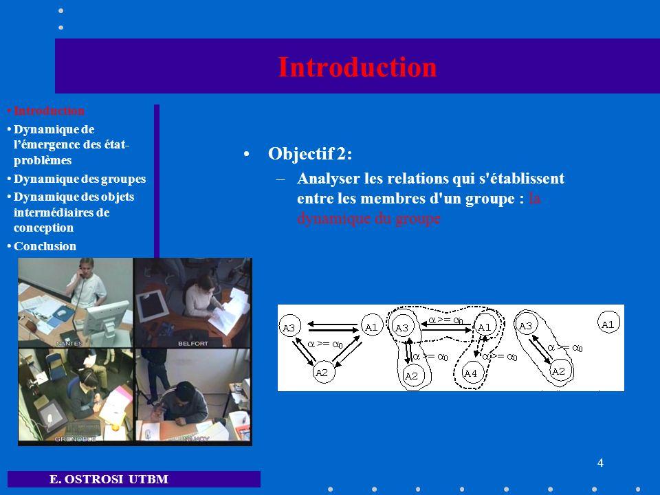 E.OSTROSI UTBM 5 Introduction Objets Intermédiaires de Conception (OIC) (Mer S.