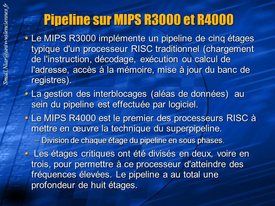 Smail.Niar@univ-valenciennes.fr Micro-acrhitecture Pentium4