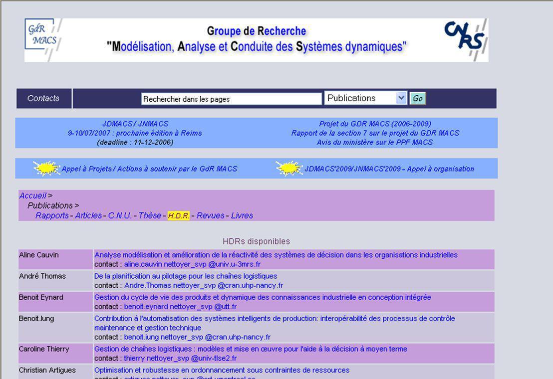 HDR – 3 juillet 2006 3