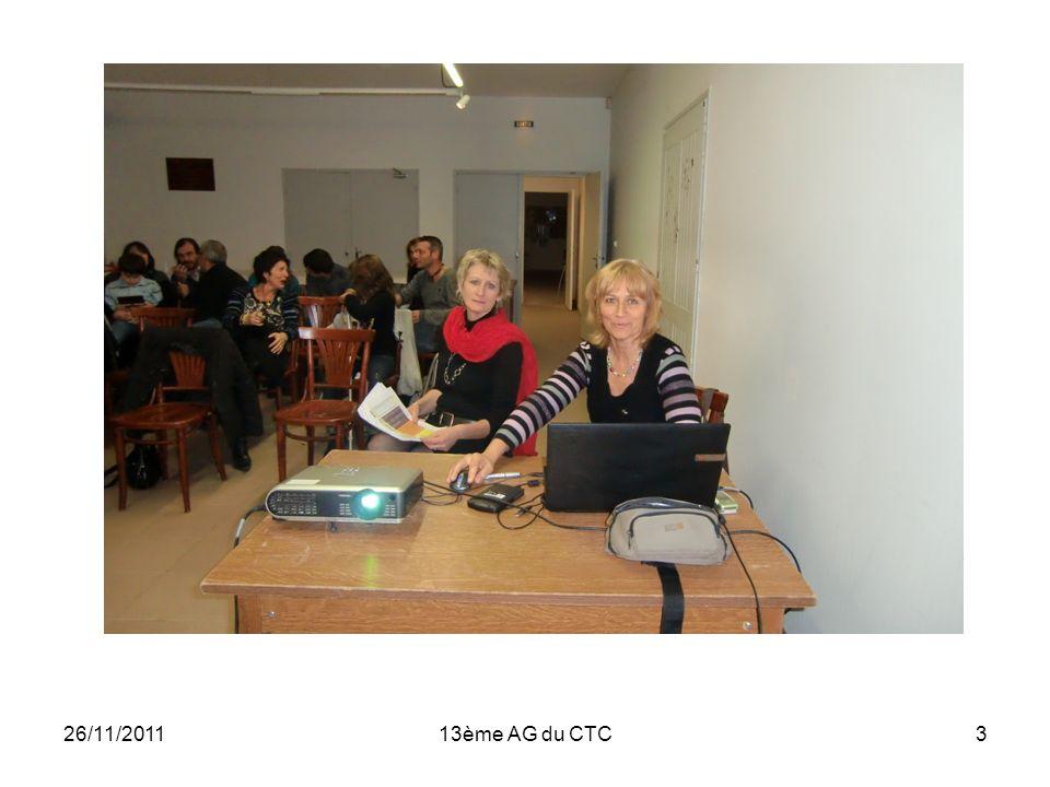 26/11/201113ème AG du CTC3