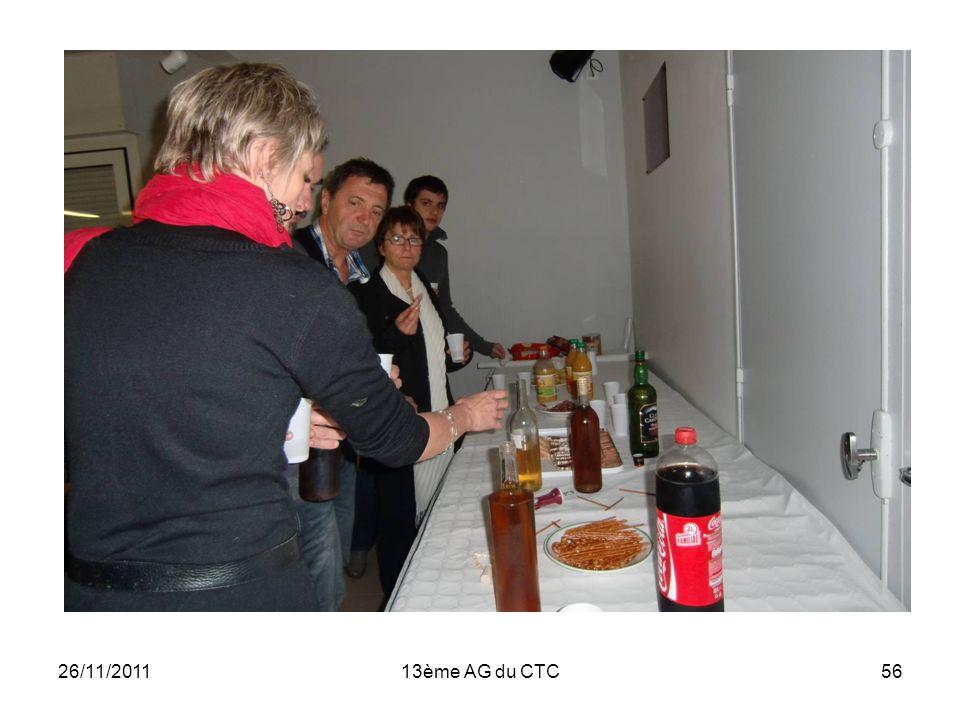 26/11/201113ème AG du CTC56